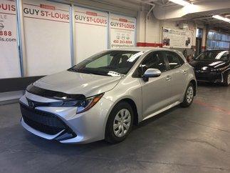 Toyota Corolla Hatchback Base  pneus d'hiver inclus 2019