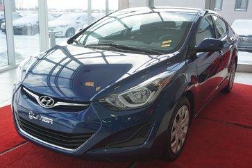 Hyundai Elantra GL-TOUT ÉQUIPÉ-GARANTIE-COMME NEUF 2016