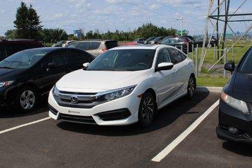 Honda Civic Sedan EX + DÉMARREUR + CAMÉRA + TOIT + SIÈGES CHAUFFANTS 2016