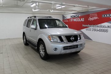 2012 Nissan Pathfinder LE + CUIR + DVD + GPS + SYSTÈME DE SON BOSE
