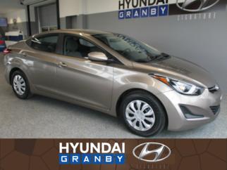 Hyundai Elantra L PLUS AUTOMATIQUE CLIMATISEUR GROUPE ELECTRIQUE 2016