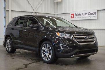 2015 Ford Edge Titanium Ecoboost AWD (cuir-toit-caméra-navi)