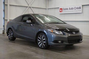 Honda Civic Cpe EX-L (cuir-toit-caméra-navi) 2013
