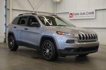 2015 Jeep Cherokee Sport 4WD (Caméra de recul)