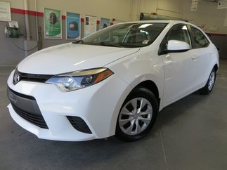 Toyota Corolla CE Gr:B *GARANTIE PROLONGÉE + CLIMATISEUR* 2015