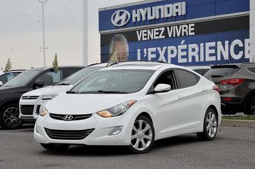 2013 Hyundai Elantra Limited  CUIR+TOIT OUVRANT