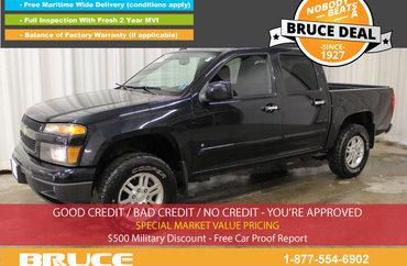 2009 Chevrolet Colorado LT 3.7L 5 CYL AUTOMATIC 4X4 CREW CAB | Photo 1