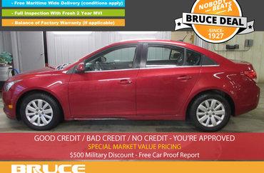 2011 Chevrolet Cruze LT 1.4L 4 CYL TURBOCHARGED AUTOMATIC FWD 4D SEDAN | Photo 1