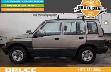 1998 Chevrolet Tracker 1.6L 4 CYL AUTOMATIC 4WD | Photo 1