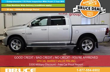 2013 Dodge RAM 1500 Sport 5.7L 8 CYL HEMI AUTOMATIC 4X4 CREW CAB | Photo 1