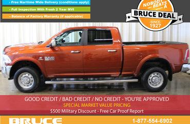 2013 Dodge RAM 2500 LARAMIE 6.7L CUMMINS TURBODIESEL 4X4 CREW CAB | Photo 1
