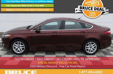 2015 Ford Fusion SE 1.5L 4 CYL ECOBOOST AUTOMATIC FWD 4D SEDAN   Photo 1