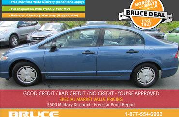 2009 Honda Civic DX-G 1.8L 4 CYL I-VTEC AUTOMATIC FWD 4D SEDAN | Photo 1