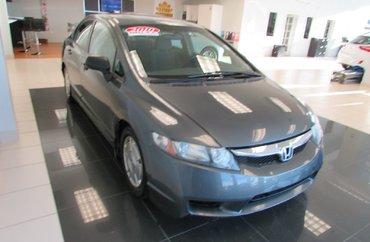 2010 Honda Civic DX-G 1.8L 4 CYL 5 SPD MANUAL FWD 4D SEDAN