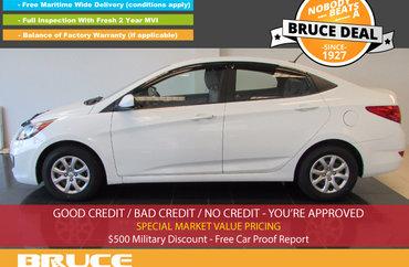 2012 Hyundai Accent GL 1.6L 4 CYL AUTOMATIC FWD 4D SEDAN | Photo 1