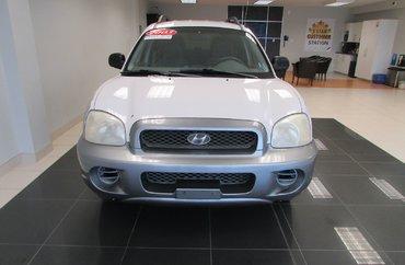 2003 Hyundai Santa Fe GL 2.7L 6 CYL AUTOMATIC AWD