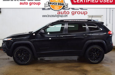 2018 Jeep Cherokee TRAILHAWK - LEATHER INTERIOR / 4X4 / REMOTE START