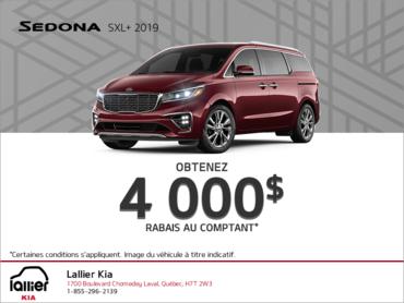 Le Kia Sedona 2019