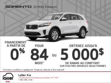 Le Kia Sorento 2019!