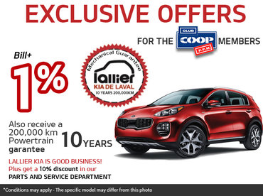Exclusive Offers for the Members of Club Coop P.P.M.