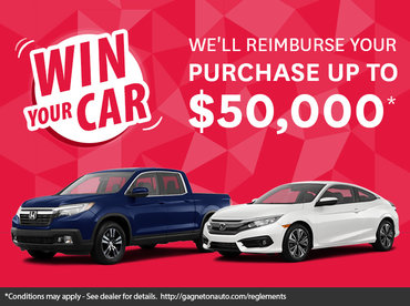 Win Your Car!