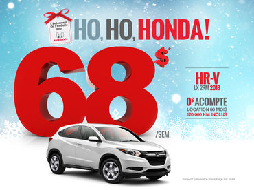 On s'emballe pour Honda - HR-V