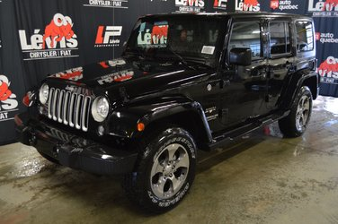 Jeep Wrangler Unlimited SAHARA BLUETOOTH GPS DÉMARREUR À DISTANCE 2017