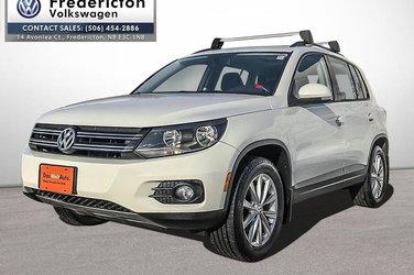 2014 Volkswagen Tiguan Comfortline 6sp at Tip 4M