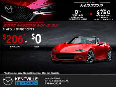 Mazda - Get the 2018 Mazda MX-5 Today!