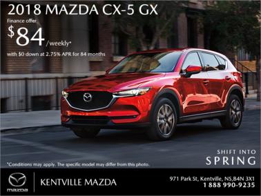 Mazda - Get the 2018 Mazda CX-5 Today!