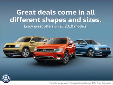The Volkswagen Monthly Sales Event!