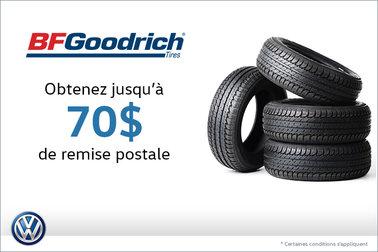 Offre sur les pneus BF Goodrich
