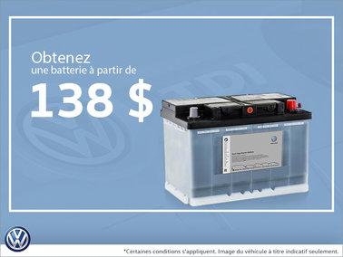 Économisez à l'achat d'une nouvelle batterie!