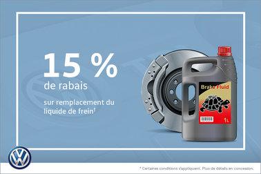 Épargnez sur le remplacement de liquide de frein!