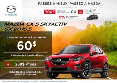 Louez la Mazda CX-5 GX 2016.5