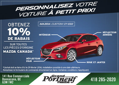 Personnalisez votre voiture à petit prix !