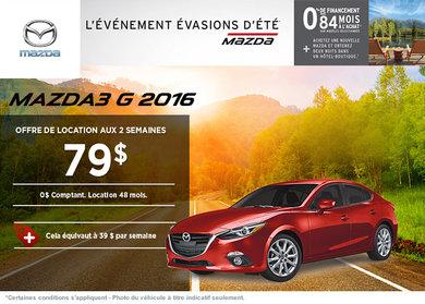 La toute nouvelle Mazda3 2016