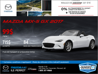 La toute nouvelle Mazda MX-5 2017