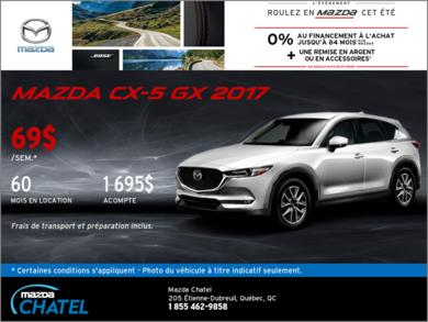 La Mazda CX-5 GX 2017