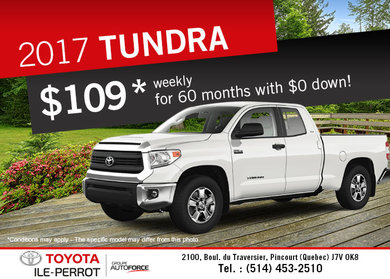 2017 Toyota Tundra for sale!