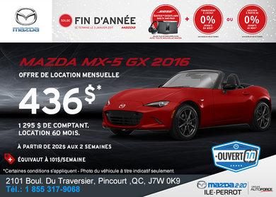 La toute nouvelle Mazda MX-5 GX 2016