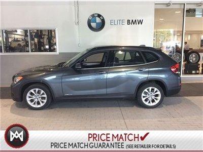 BMW X1 AWD, PREMIUM, SUNROOF 2014
