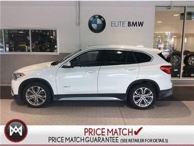 BMW X1 PREMIUM, AWD, SUNROOF 2017