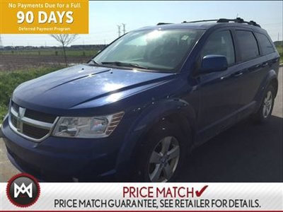 2010 Dodge Journey SXT,REMOTE START,HANDS FREE CAPAPBILITIES WHAT A FUN COLOUR,,,RIDING IN STYLE!!