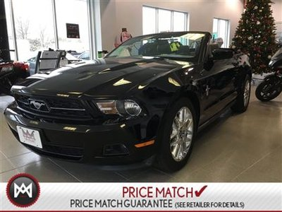 2012 Ford Mustang V6 PREMIUM!!! *CONVERTIBLE!!!*LEATHER!!*LOW KMS!!!
