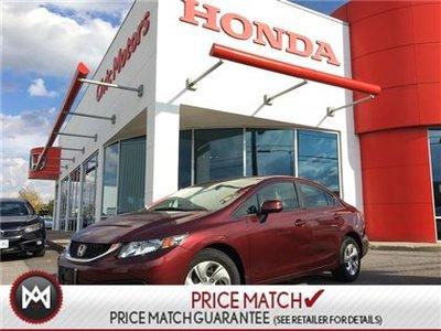 Honda Civic Sdn LX - HEATED SEATS, BLUETOOTH, CRUISE 2013
