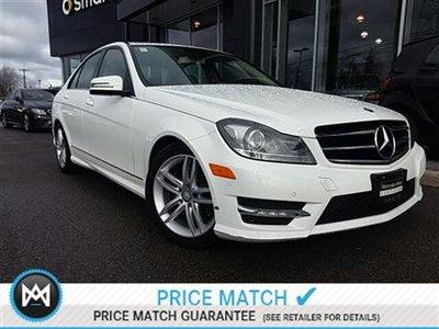 2014 Mercedes-Benz C300 Avantgarde 1 pkg, Avantgarde 2 pkg, Driving assistance pkg, Bi-Xenon pkg, Partronic w/parking guidance