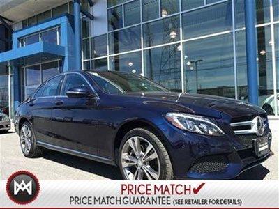 2016 Mercedes-Benz C300 PREMIUM PKG, PREMIUM PLUS PKG, INTELLIGENT DRIVE PKG, METALIC PAINT, HEATED STEARING, ACTIVE LED HIGH PERFORMANCE LIGHTING SYSTE
