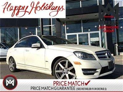 2012 Mercedes-Benz C350 DRIVING ASSISTANCE PKG, SPORT PKG, PREMIUM PKG