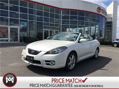2007 Toyota Camry Solara CONVERTIBLE: LEATHER, POWER TOP Beautiful condition